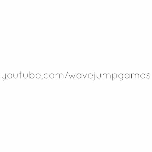 WavejumpGames URL (Black) - Men's Premium T-Shirt