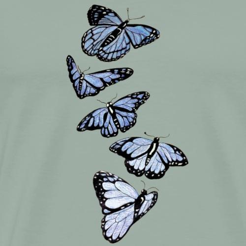 Array of Butterflies - Men's Premium T-Shirt