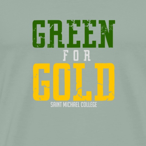 Green for Gold - Men's Premium T-Shirt