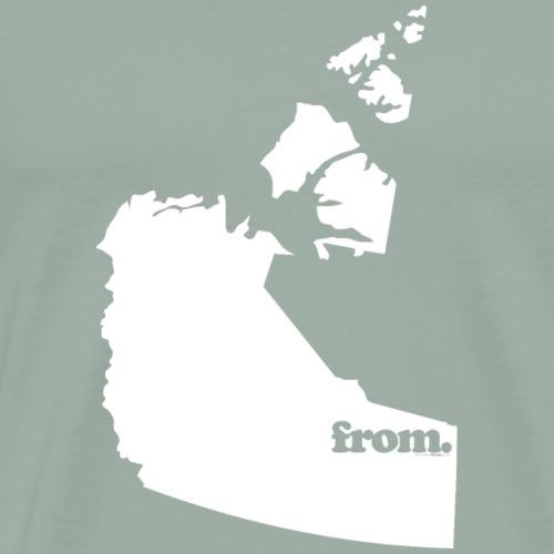 from Nortwest Territories - Men's Premium T-Shirt