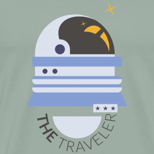 The Space Traveler - Men's Premium T-Shirt