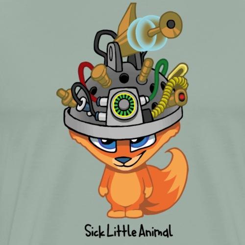 Sick Little Foxy - Men's Premium T-Shirt
