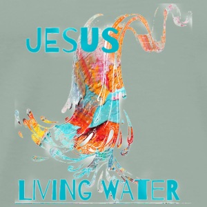living water - Men's Premium T-Shirt