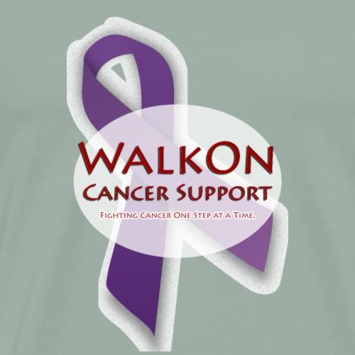Purple Walkon - Men's Premium T-Shirt