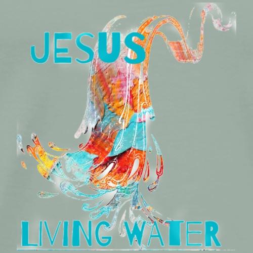 living water - Men's Premium T-Shirt