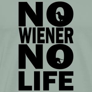 No Wiener No Life - Men's Premium T-Shirt