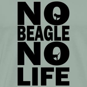No Beagle No Life - Men's Premium T-Shirt