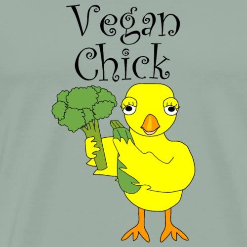 Vegan Chick - Men's Premium T-Shirt