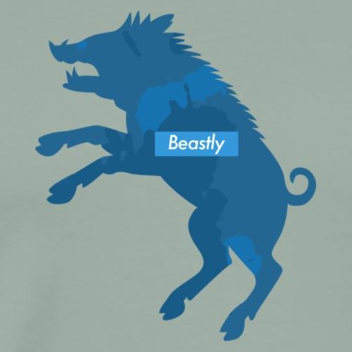 Mr Beastly - Men's Premium T-Shirt