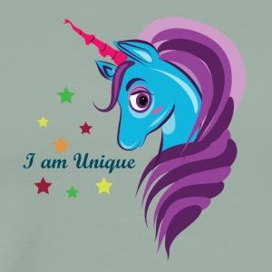 Cute Unicorn Horse - Men's Premium T-Shirt