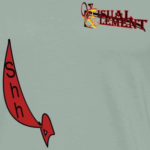 shhh - Men's Premium T-Shirt