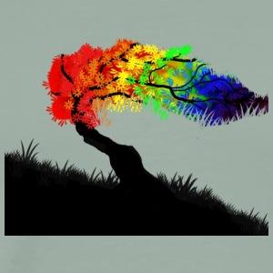 rainbow tree - Men's Premium T-Shirt