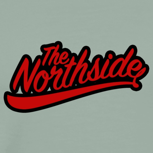 northside black red - Men's Premium T-Shirt