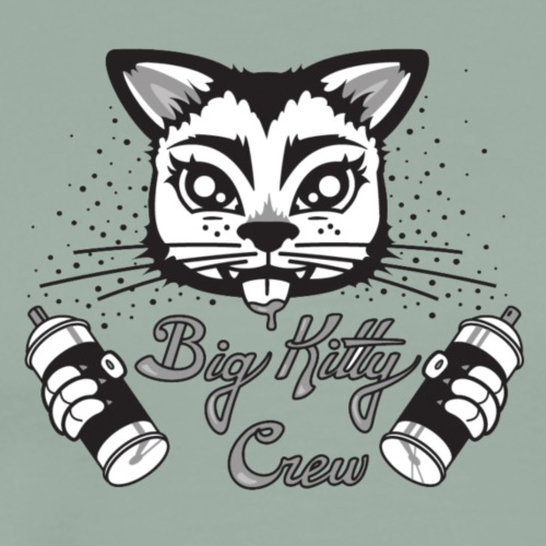 Big Kitty Spray Paint - Men's Premium T-Shirt