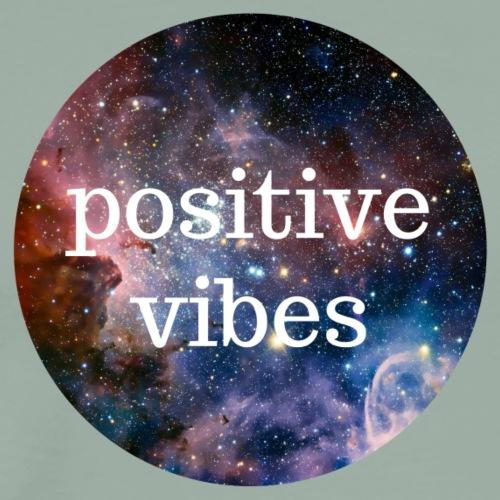 Positive Vibes - Men's Premium T-Shirt
