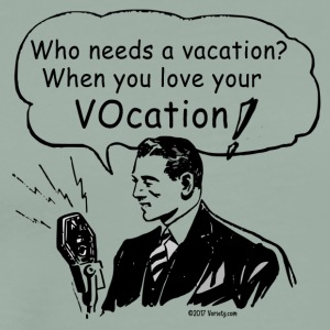 Who needs a vacation? - Men's Premium T-Shirt