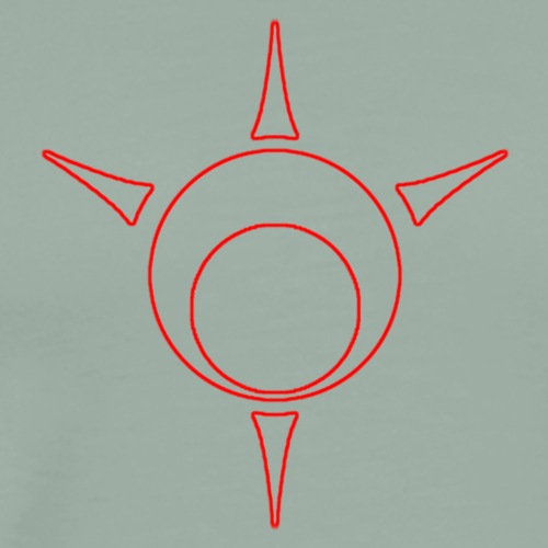 Sigil outline - Men's Premium T-Shirt