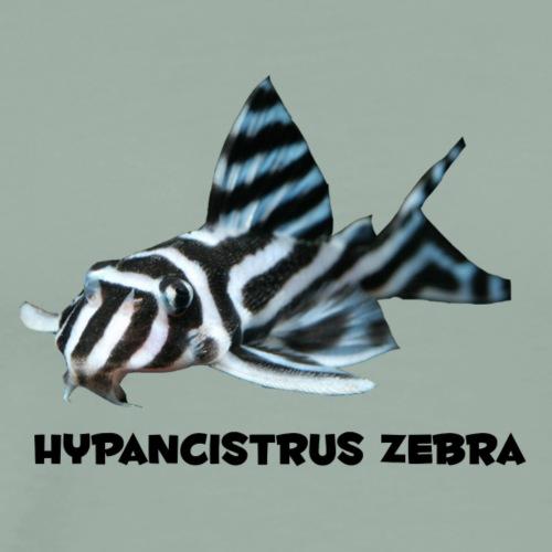 Zebra Pleco - Men's Premium T-Shirt