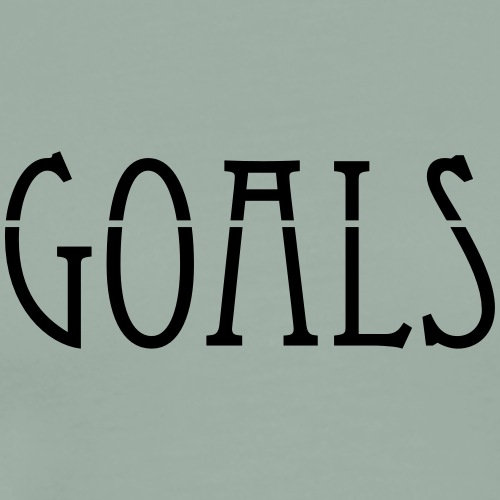 Goals - Men's Premium T-Shirt