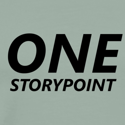 One Storypoint - Scrum Shirt - Men's Premium T-Shirt
