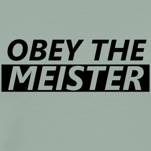 Meister - Scrum Master T-Shirt - Men's Premium T-Shirt