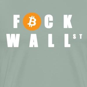 F WALL STREET - Men's Premium T-Shirt