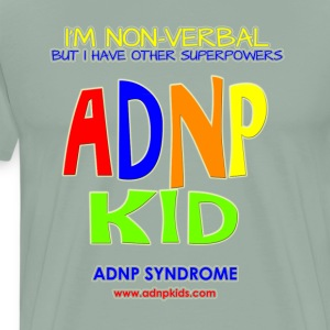 ADNP Kid Shirt Non VerBAL - Men's Premium T-Shirt
