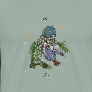 Beer Skeleton - Men's Premium T-Shirt