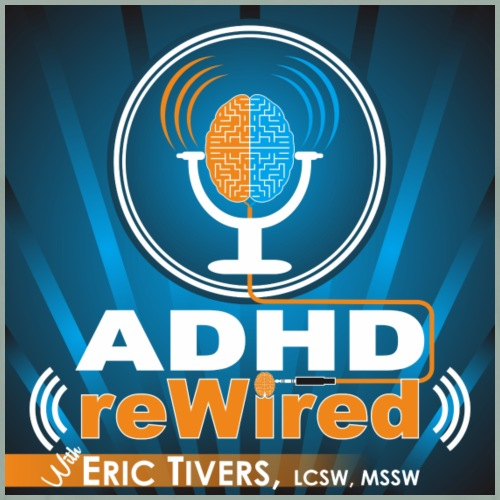 ADHD reWired Logo - Men's Premium T-Shirt