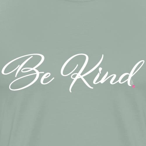 Be Kind - White - Men's Premium T-Shirt
