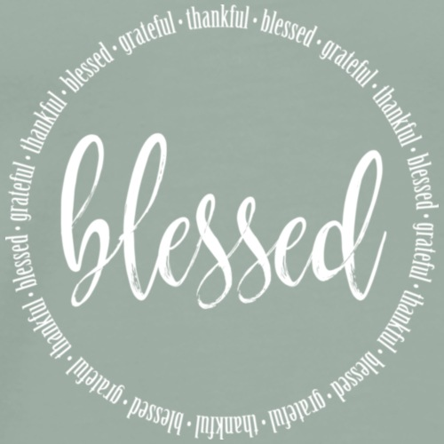 Thankful & Blessed - Men's Premium T-Shirt