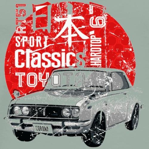 Sport Classics Toyota Retro car - Men's Premium T-Shirt