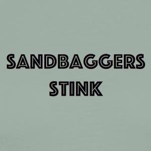 sandbaggersstink2 - Men's Premium T-Shirt