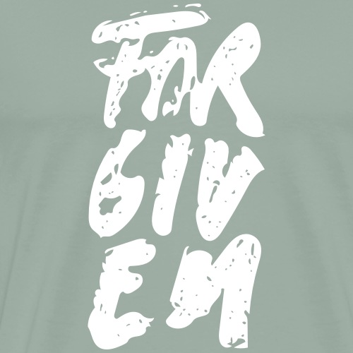 Forgiven Brush - Men's Premium T-Shirt