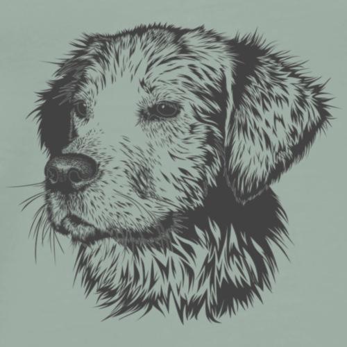 Dog Funny Design - Men's Premium T-Shirt