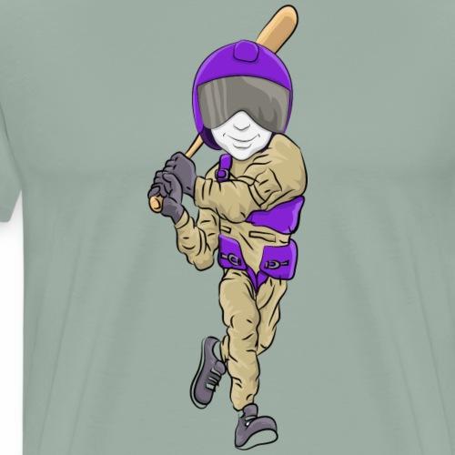 Aviators Mascot Baseball - Men's Premium T-Shirt