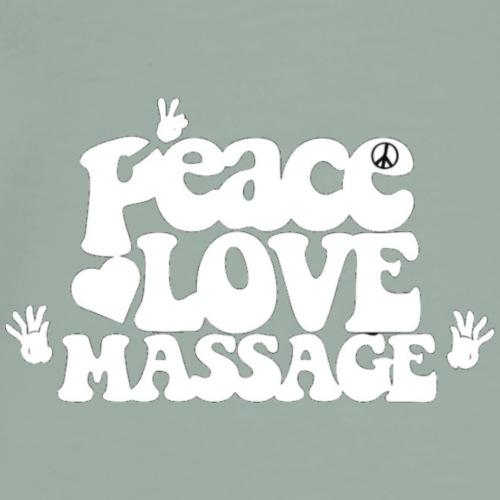 Peace Love Massage - Men's Premium T-Shirt