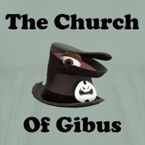 The Church of Gibus Light Gray - Men's Premium T-Shirt