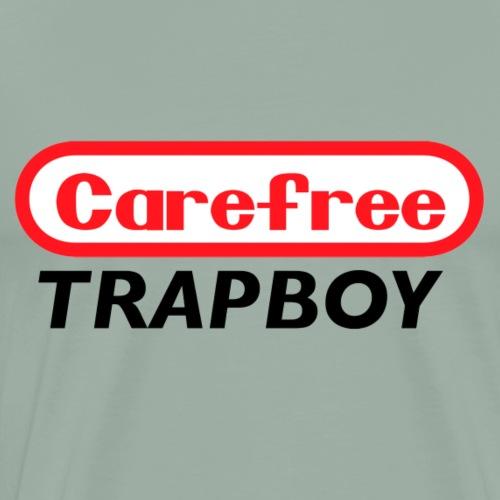 Carefree Trapboy retro gaming - Men's Premium T-Shirt