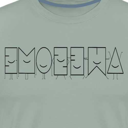 Awesome - Abstract Shapes - PrimeMeTee - Men's Premium T-Shirt