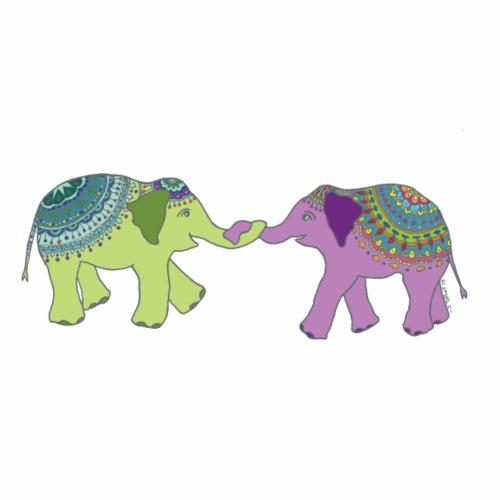 Elephant Friends - Men's Premium T-Shirt