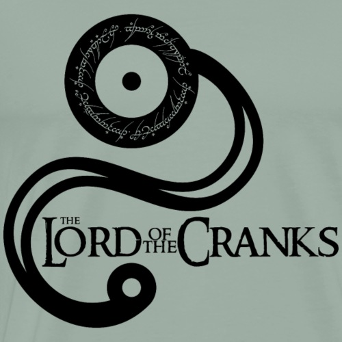 The Lord of the Cranks - Men's Premium T-Shirt