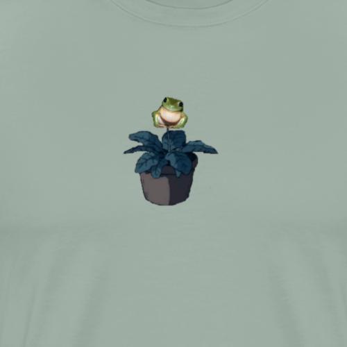 Frog-plant - Men's Premium T-Shirt