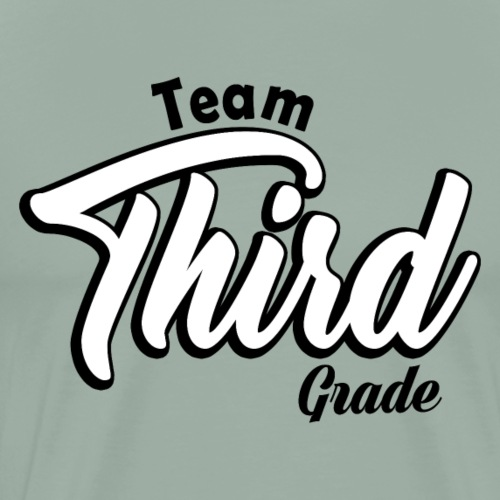 Teacher T-shirt - Team Third Grade - 3rd Grade - Men's Premium T-Shirt