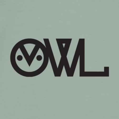 Owlet Logo - Men's Premium T-Shirt