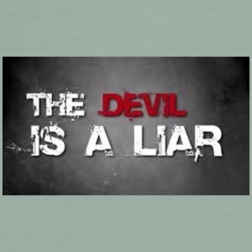 Devil is a liar! - Men's Premium T-Shirt