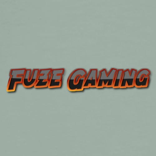 Fuze Gaming Only letters - Men's Premium T-Shirt