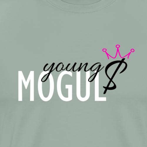 Young Mogul: Goes Pink - Men's Premium T-Shirt