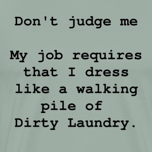Don t judge me - Men's Premium T-Shirt