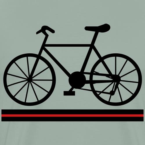 Bicycle Lines - Men's Premium T-Shirt